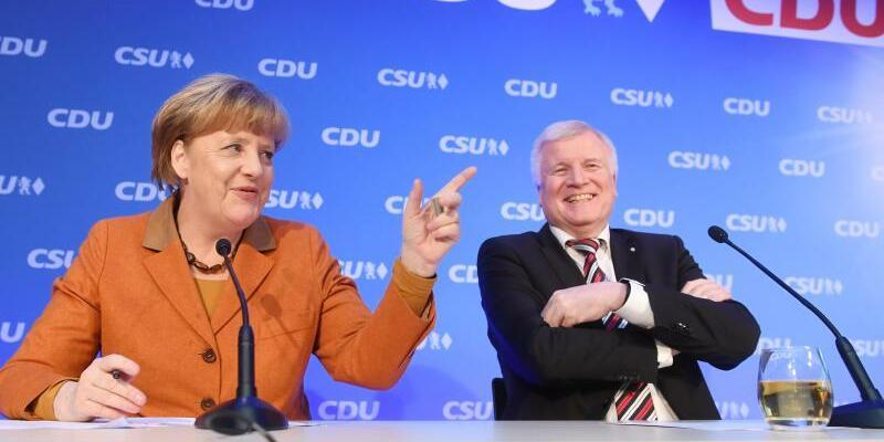 Spitzentreffen von CDU und CSU - Foto: Tobias Hase/Archiv