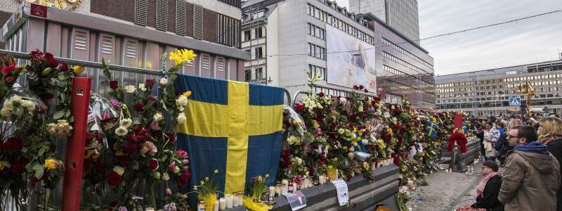 Trauer in Stockholm - Foto: Kenta Jönsson/Bildbyran via ZUMA Wire