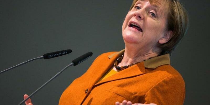 Merkel - Foto: Jens Büttner/Archiv