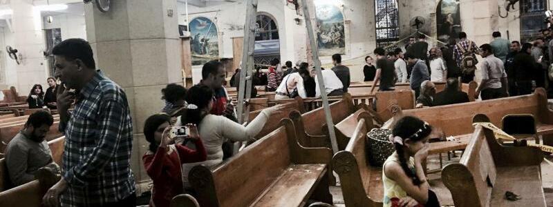 Nach dem Anschlag - Foto: Nariman El-Mofty