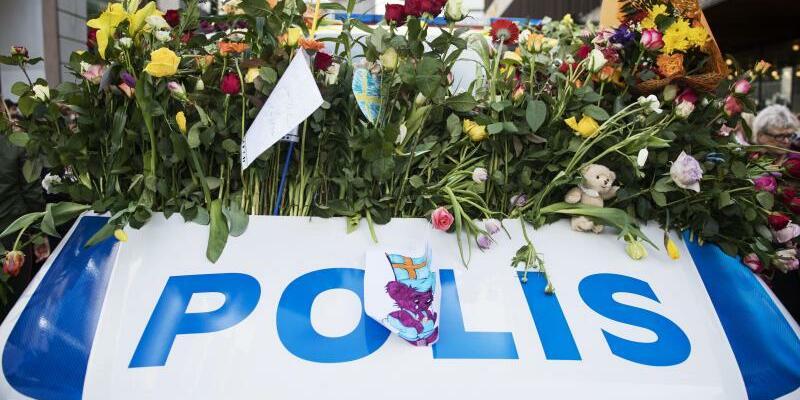 Polizei in Stockholm - Foto: Linnea Rheborg/Bildbyran