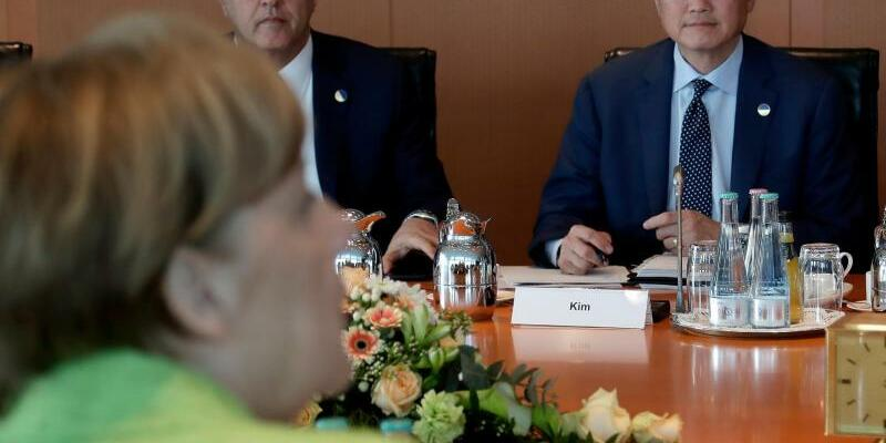 Treffen im Kanzleramt - Foto: Michael Sohn