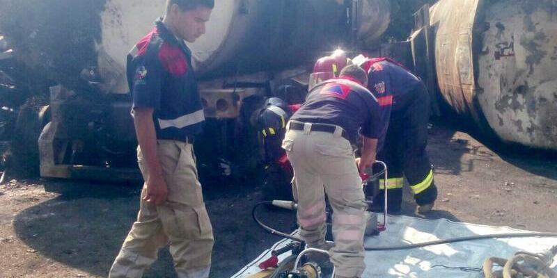 Explosion von Tanklastzug in Mexiko - Foto: Especial/NOTIMEX/dpa