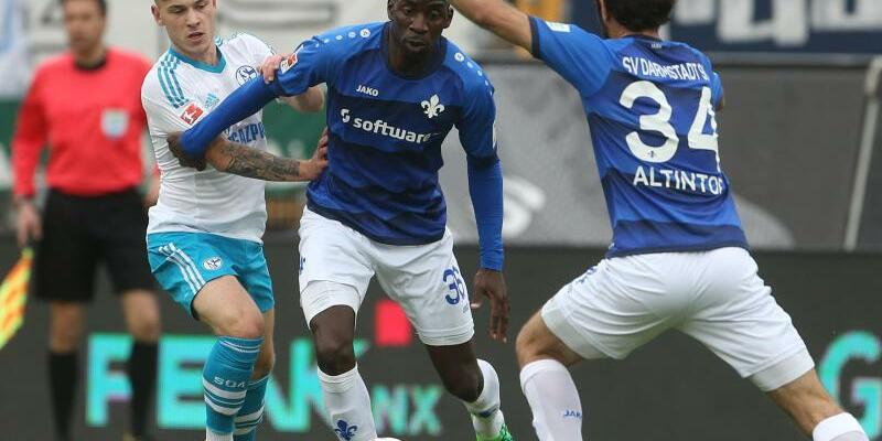 Darmstadt 98 - FC Schalke 04 - Foto: Thomas Frey