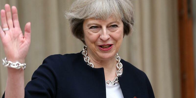Theresa May - Foto: Harish Tyagi/Archiv