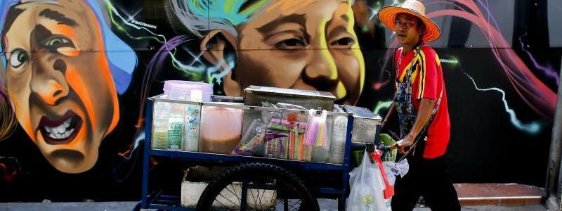 Straßenküchen in Bangkok - Foto: Diego Azubel