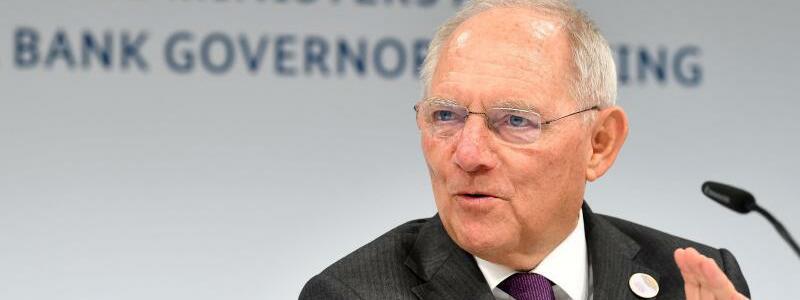 Schäuble - Foto: Franziska Kraufmann
