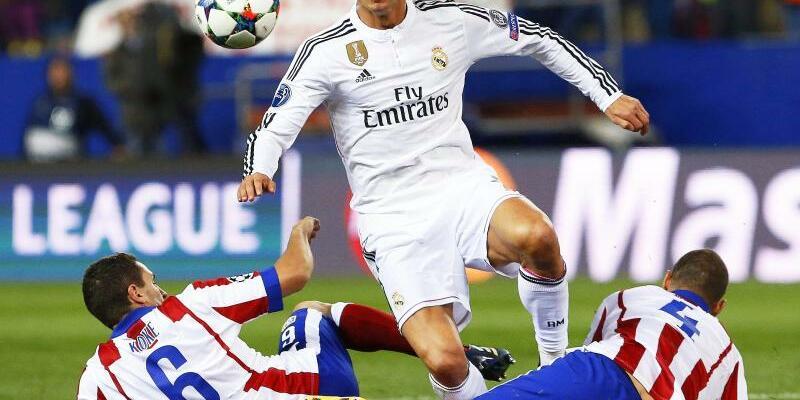 Real Madrid - Atlético Madrid - Foto: Alberto Martin