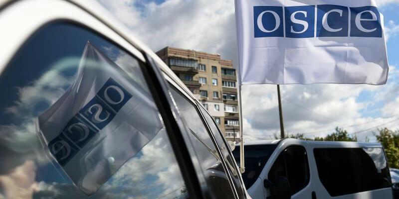 OSZE-Fahne - Foto: Rainer Jensen