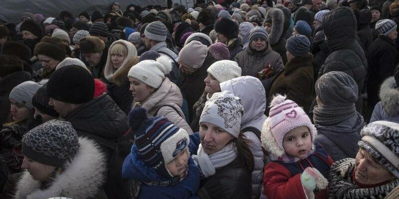 Lebensmittelknappheit in der Ukraine - Foto: Evgeniy Maloletka