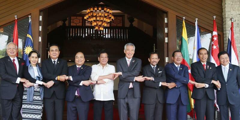 Asean Gipfel - Foto: Bullit Marquez