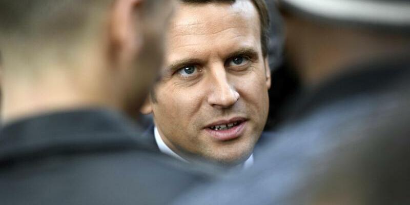Emmanuel Macron - Foto: Martin Bureau