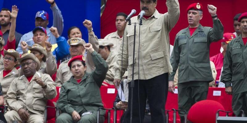 Nicolas Maduro - Foto: Ariana Cubillos