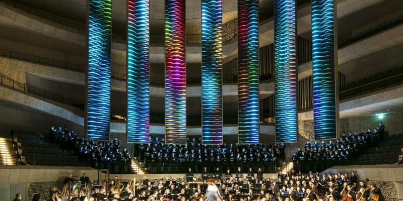Mahlers «Achte» in der Elbphilharmonie - Foto: Wolf-Dieter Gericke/Staatsoper Hamburg