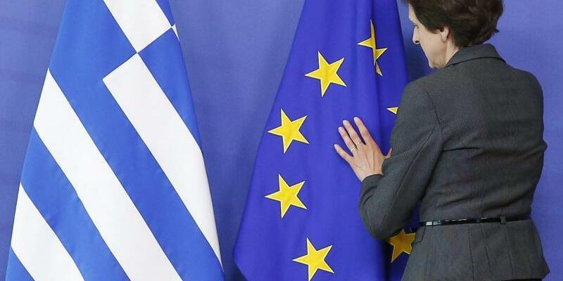 Griechische Flagge - Foto: Julien Warnand