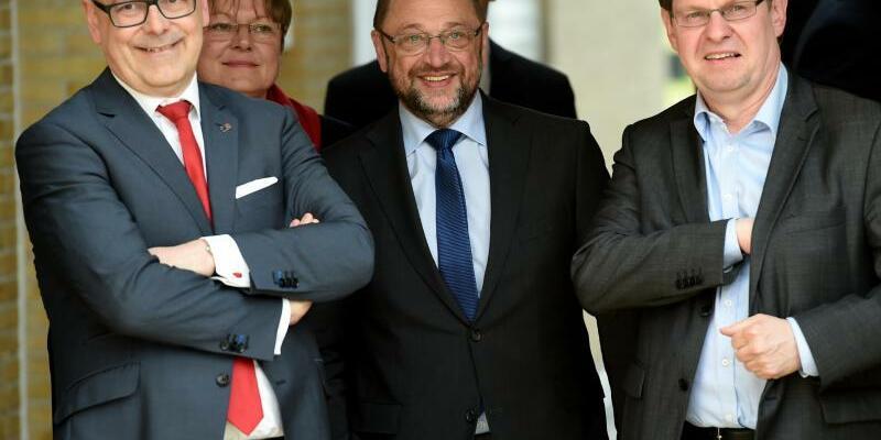 Wahlkampf der SPD in Schleswig-Holstein - Foto: Carsten Rehder