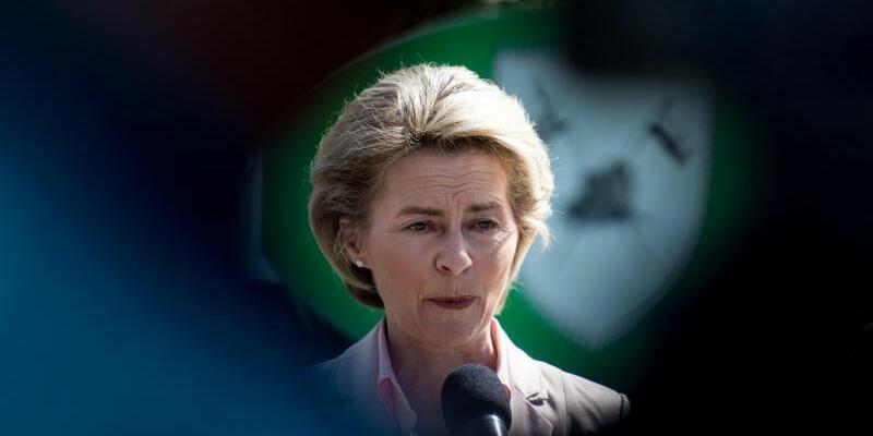 Ministerin von der Leyen - Foto: Patrick Seeger