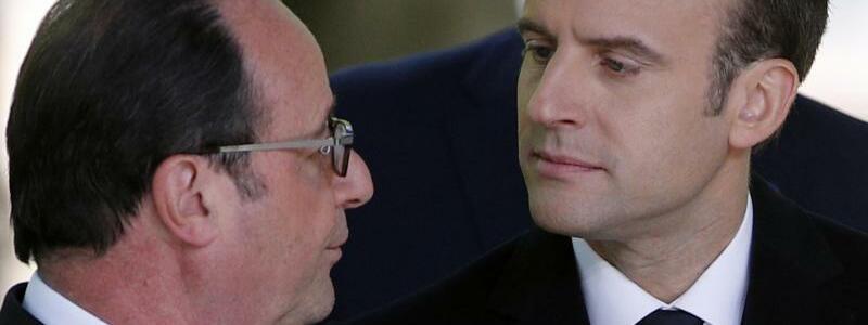 Hollande und Macron - Foto: Christope Ena