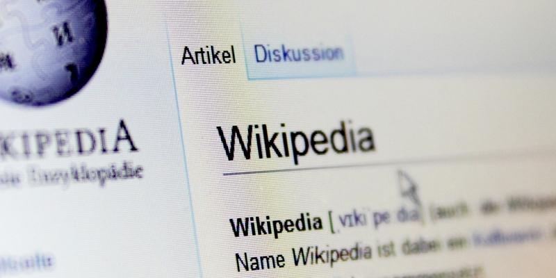 Wikipedia - Foto: über dts Nachrichtenagentur