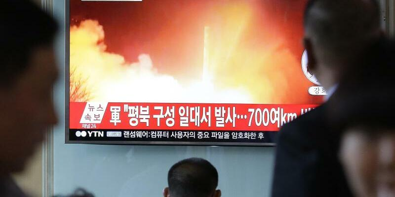 Raketentest - Foto: Ahn Young-Joon