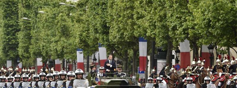 Amtseinführung Macron - Foto: Alain Jocard