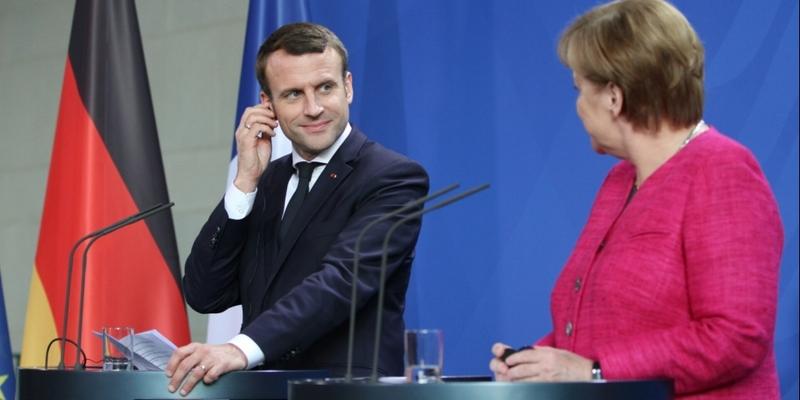 Emmanuel Macron und Angela Merkel am 15.05.2017 - Foto: über dts Nachrichtenagentur