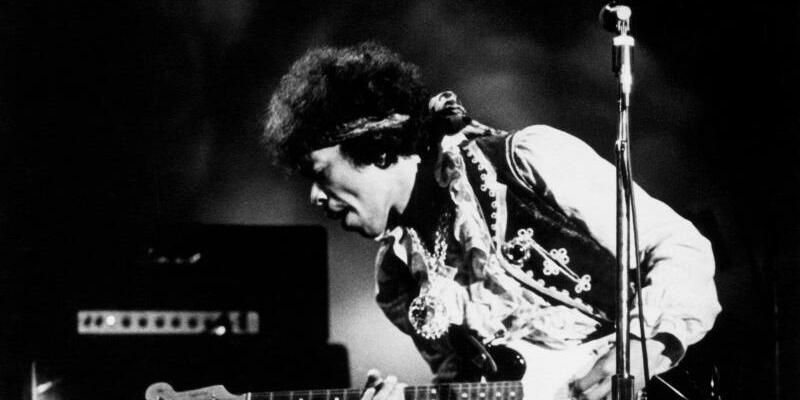 Jimi Hendrix - Foto: Bruce Fleming/Heritage Auctions