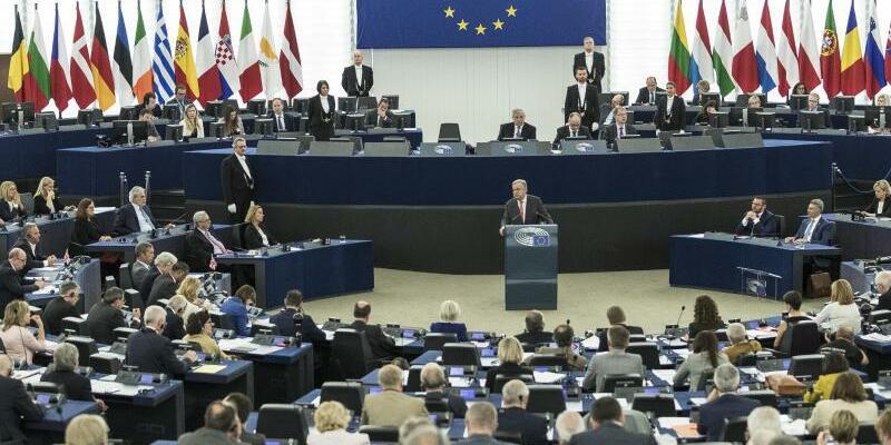 EU-Parlament in Straßburg - Foto: Jean-Francois Badias/Archiv
