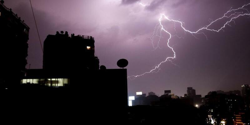 Gewitter in Kairo - Foto: Nariman El-Mofty
