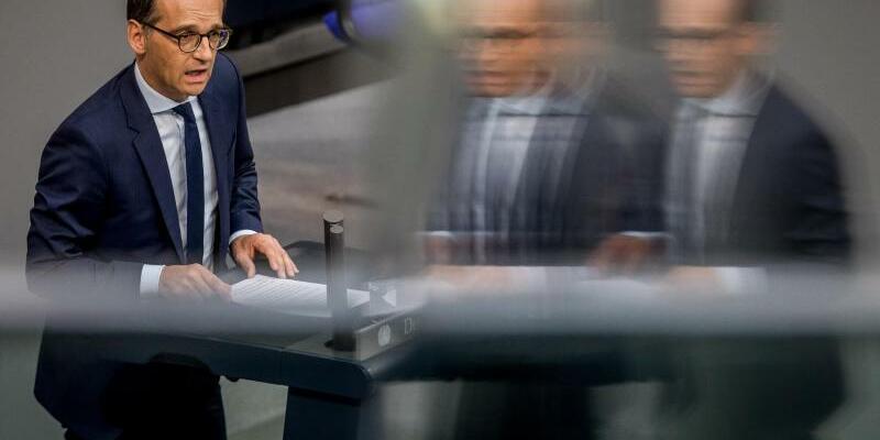 Maas im Bundestag - Foto: Michael Kappeler