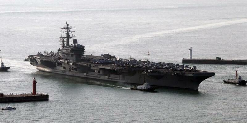 USS Ronald Reagan - Foto: Yonhap/Archiv