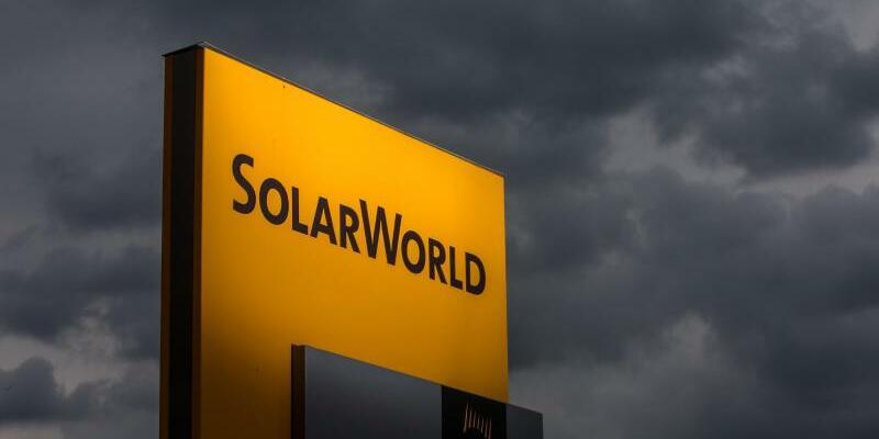 Solarworld-Standort Arnstadt - Foto: Deutschlands größter Solarhersteller Solarworld hatte Mitte Mai Insolvenz beantragt. Foto:Arifoto Ug/Michael Reichel