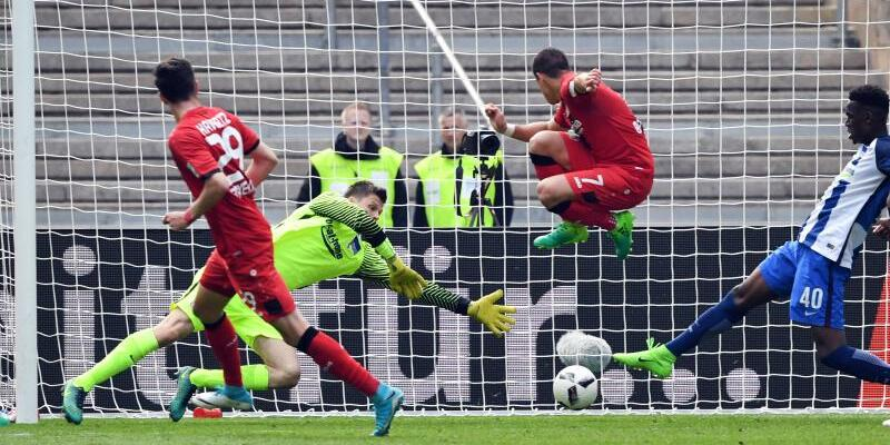 Hertha BSC - Bayer Leverkusen - Foto: Soeren Stache