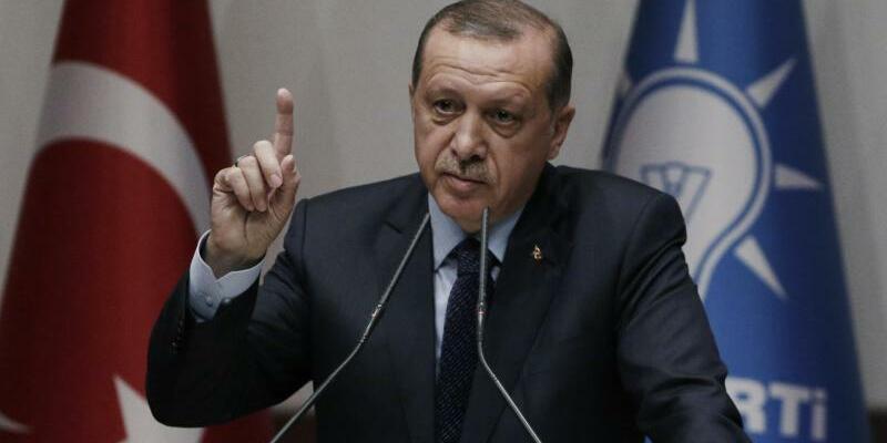 Präsident Erdogan - Foto: Burhan Ozbilici