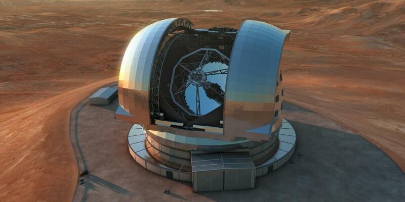 Extremely Large Telescope (ELT) - Foto: L. Calçada / European Southern Observator