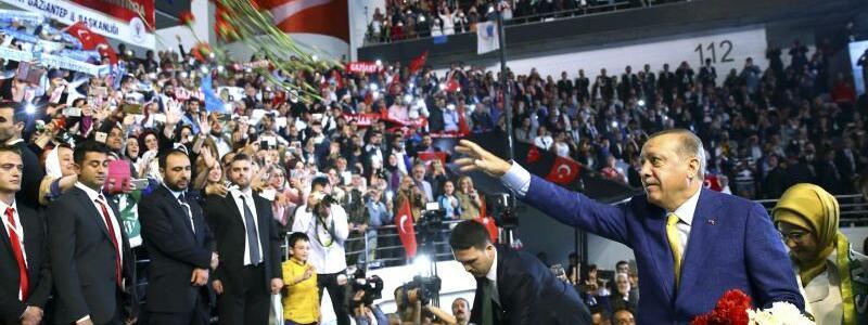 AKP-Sonderparteitag - Foto: Stf/Press Presidency Press Service