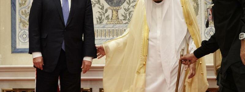 Trump und Salman - Foto: Evan Vucci