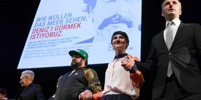 Matinee der Solidarität für Deniz Yücel - Foto: Arne Dedert