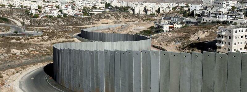 Mauer im Westjordanland - Foto: Jim Hollander