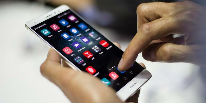 Huawei Smartphone - Foto: Gregor Fischer