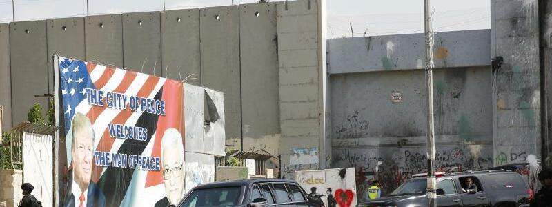Grenzmauer in Bethlehem - Foto: Evan Vucci