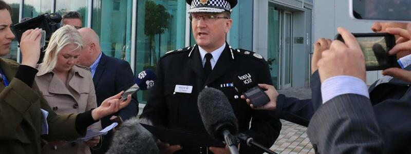Polizeichef vom Manchester - Foto: Peter Byrne