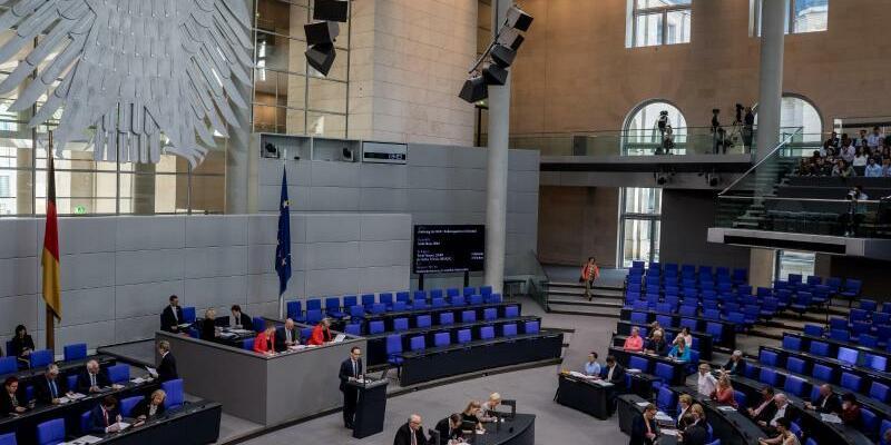 Bundestag - Foto: Michael Kappeler