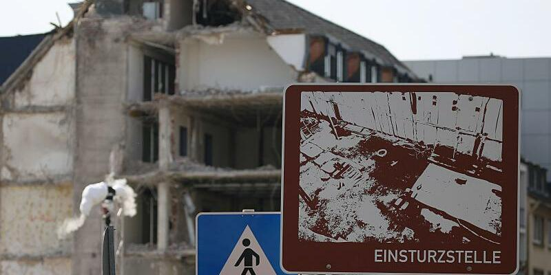 Einsturzstelle Stadtarchiv - Foto: Oliver Berg