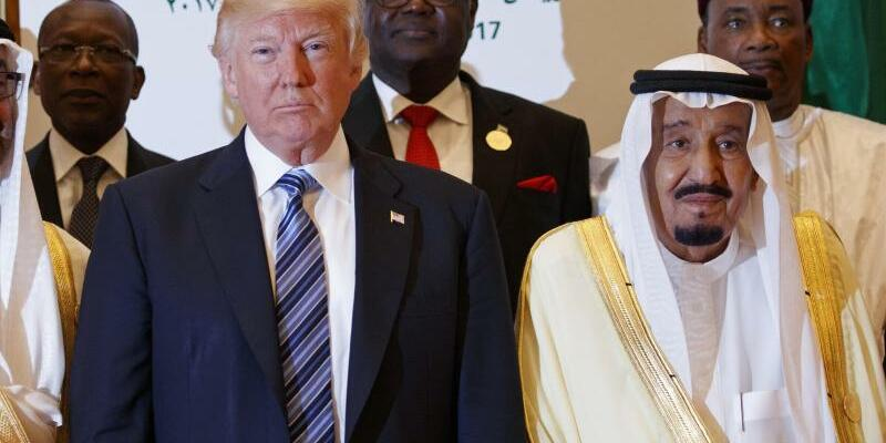 Trump in Saudi-Arabien - Foto: Evan Vucci