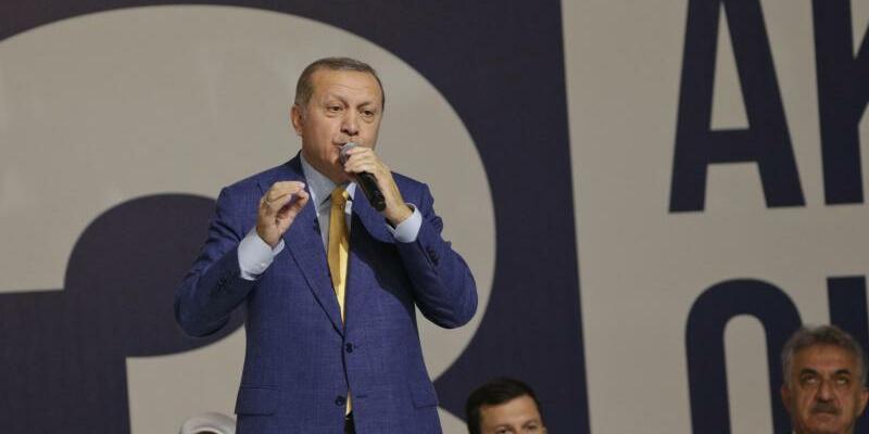 Recep Tayyip Erdogan - Foto: Burhan Ozbilici