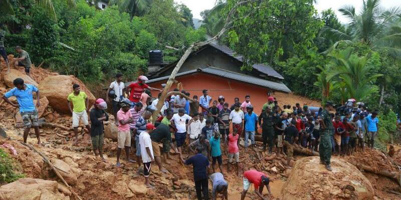 Tote nach Unwetter - Foto: Eranga Jayawardena