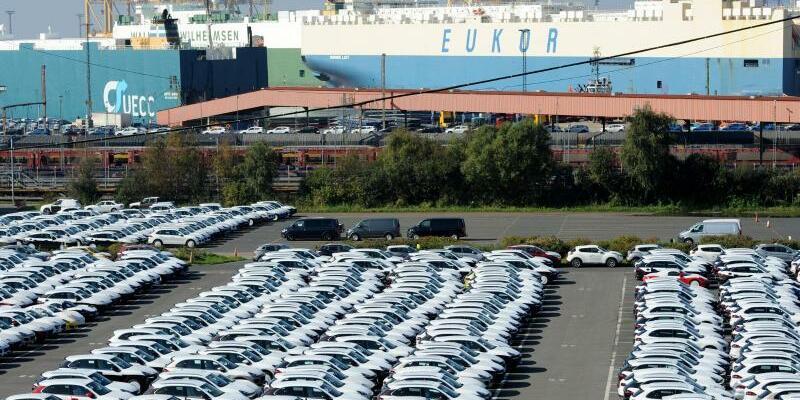 Autoterminal Bremerhaven - Foto: Ingo Wagner