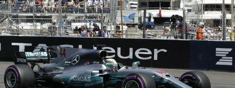 Lewis Hamilton - Foto: Mercedes-Pilot Lewis Hamilton hatte Probleme in der Quali. Foto: