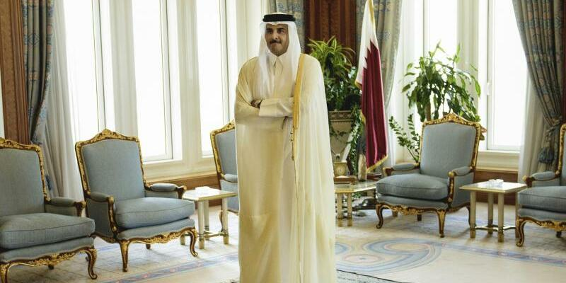 Emir Scheich Tamim bin Hamad Al-Thani - Foto: Brendan Smialowski